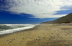 New Zealand West Coast Beach. A view on the wast coast of New Zealands south island Royalty Free Stock Images