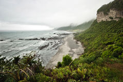 New Zealand West Coast Landscape Royalty Free Stock Images