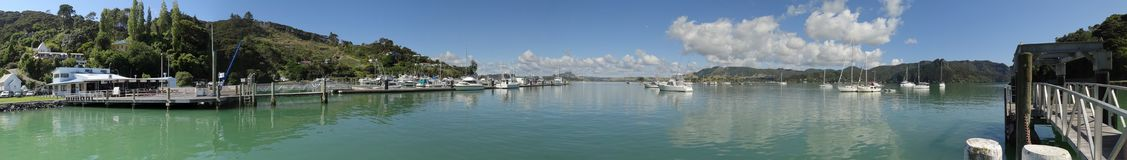 Whangaroa Harbour & Marina ​ royalty free stock photos