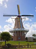 New zealand, windmill in foxton Stock Image