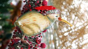 New Zealand xmas decoration stock photos