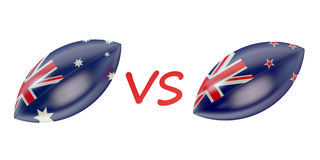 New Zeland vs Australia final Rugby World Cup 2015 Stock Images