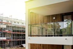 newar的建造场所一个新的家 免版税库存照片