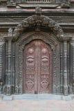 Newari door Stock Image