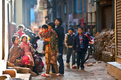 Newaris people, Nepal Stock Photos