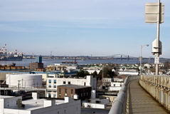 Newark Bay View Royalty Free Stock Images