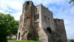 Newark Castle stock photo