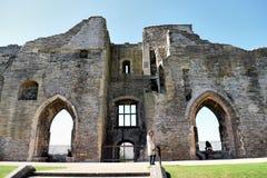 Newark Castle Hotspot stock photography