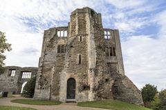 Newark Castle in Nottinghamshire royalty free stock photos