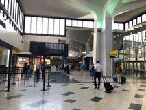 Newark flygplats arkivbild