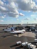 Newark flygplats royaltyfri bild