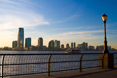 Newark horisont Arkivfoto