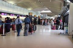 Newark lotnisko Zdjęcia Royalty Free