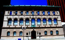 Newark, NJ: Δημόσια βιβλιοθήκη του Newark Στοκ φωτογραφία με δικαίωμα ελεύθερης χρήσης