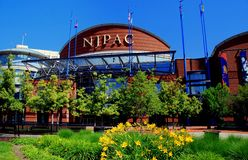 Newark, NJ: Centro das artes de palco de NJ Imagem de Stock