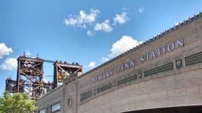 Newark Penn Station, estação de Pensilvânia, NJ, EUA Imagem de Stock Royalty Free