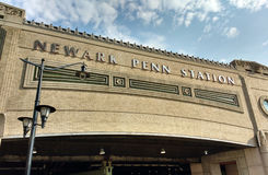 Newark Penn Station, Pennsylvania station, NJ, USA Royaltyfri Foto