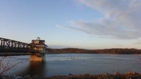 Newark Reservoir stock image