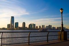 Newark-Skyline stockfoto