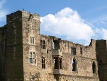 Newark slott nära sherwoodskogen UK Arkivbilder