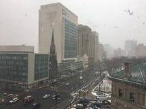 Newark under kastbyar royaltyfri foto