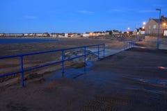 Newbiggin pelo mar Fotografia de Stock Royalty Free