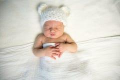 Newborn медведь младенца Стоковые Изображения