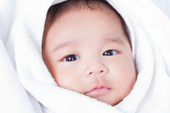 Newborn младенец 2. Стоковые Изображения