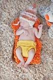 Newborn младенец Стоковые Фотографии RF