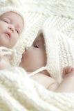 Newborn младенцы близнецов стоковое фото rf
