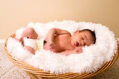 newborn спать Стоковое фото RF