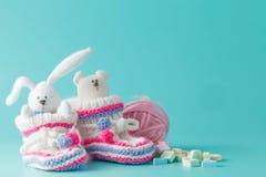 Newborn announcement concept Stock Images