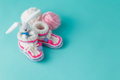 Newborn announcement concept Royalty Free Stock Image