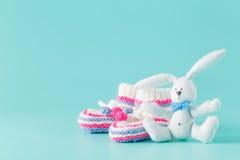 Newborn announcement concept Stock Photography