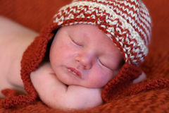 Newborn baby Stock Image