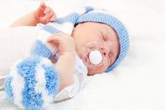 Newborn baby Stock Images