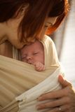 Newborn baby Stock Photography