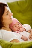 Newborn baby Royalty Free Stock Photography