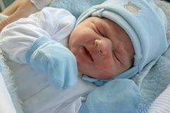 Newborn baby. Royalty Free Stock Photos