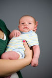 Newborn Baby Boy Stock Image