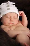 Newborn baby boy stock photography