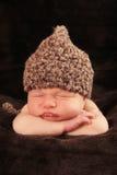 Newborn baby boy royalty free stock photos