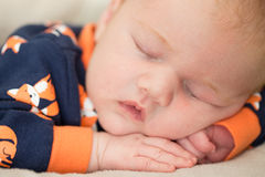 Newborn baby boy Royalty Free Stock Photography