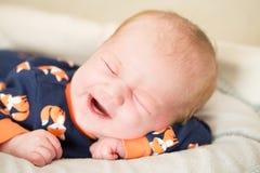 Newborn baby boy Royalty Free Stock Image