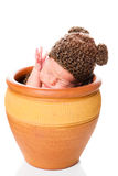 Newborn baby boy Royalty Free Stock Image