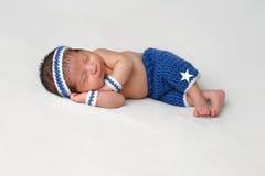 Free Newborn Baby Boy Runner Royalty Free Stock Image - 82351016