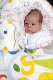 Newborn baby on the diaper Royalty Free Stock Photo