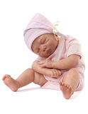 Newborn Baby Doll Royalty Free Stock Photos