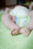 Newborn Baby: Feet Royalty Free Stock Photos