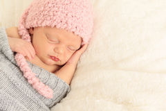 Newborn baby stock images